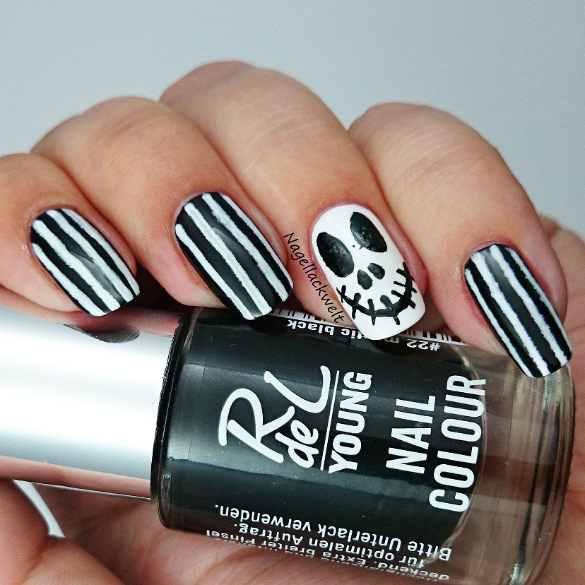 Jack Skellington Nageldesign