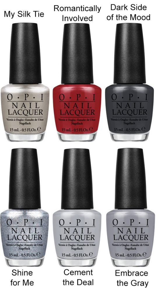 OPI Fifty Shades Of Grey Kollektion