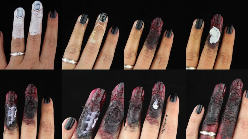 Tutorial Nageldesign Halloween