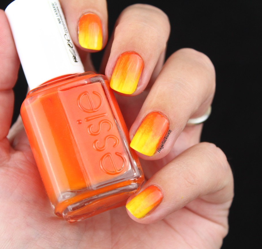 essie gradient gelb orange