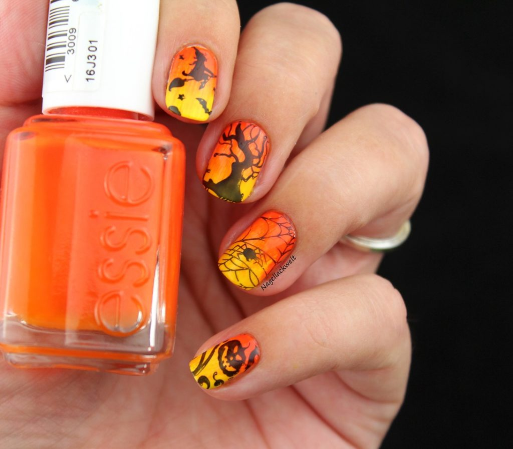 essie halloween nageldesign