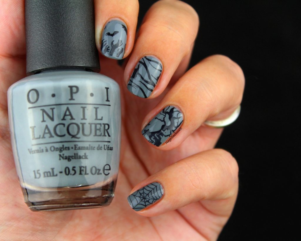 halloween nails OPI