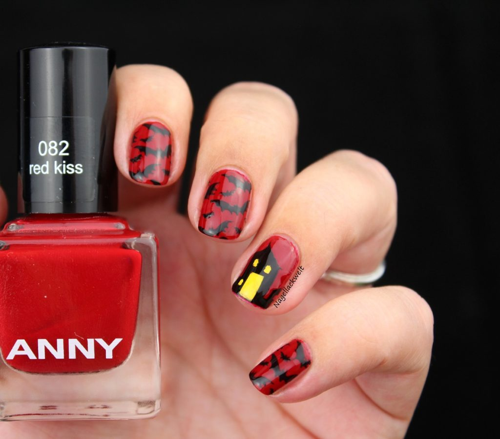 halloween nails anny