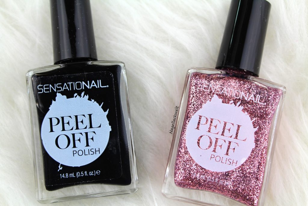 sensationail peel off polish
